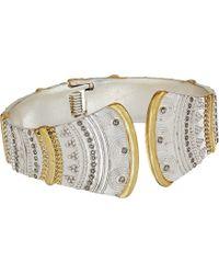 Lucky Brand - Pave Hinge Bracelet - Lyst