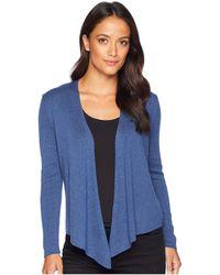NIC+ZOE - Petite Four-way Cardy Heavyweight (mineral) Women's Sweater - Lyst