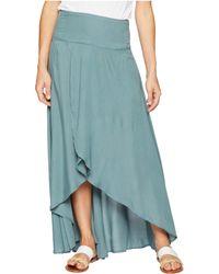 O'neill Sportswear - Ambrosio Skirt (balsam Green) Women's Skirt - Lyst