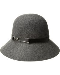 San Diego Hat Company - Packable Cloche (charcoal) Caps - Lyst