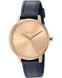 Nixon - Kensington Leather - Lyst