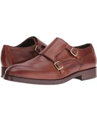 Cole Haan - Harrison Grand Double Monk (british Tan/dark Natural) Men's Shoes - Lyst
