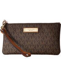 MICHAEL Michael Kors - Wristlets Medium Wristlet (vanilla) Handbags - Lyst
