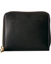 Cole Haan - Zoe Small Zip Wallet (black) Wallet Handbags - Lyst