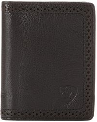 Ariat - Shield Perforated Edge Bifold Wallet - Lyst