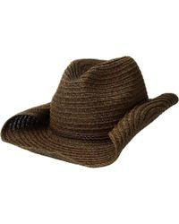 San Diego Hat Company - Pbc2443os Paperbraid Cowboy W  Double Braid Trim ( black) 664715c28e30