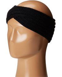 San Diego Hat Company - Knh3444 Overlap Knit Headband (camel) Headband - Lyst