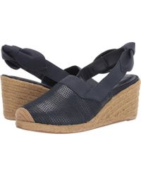 6c740fbac2e Lauren by Ralph Lauren - Helma (black Linen) Women s Shoes - Lyst