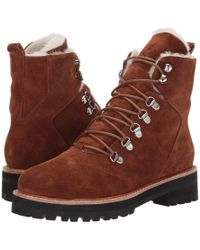 Sol Sana - Harlan Boot (burnt Tan Suede) Women's Lace-up Boots - Lyst
