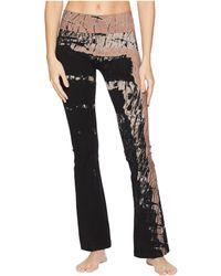 Hard Tail - Rolldown Bootleg Flare Pants (rainbow Horizon 72) Women's Casual Pants - Lyst