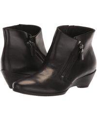 e4633f70fdbd Ecco - Sculptured 45 Bootie W  Zip (brandy Calf Leather) Women s Boots -