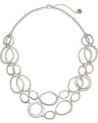 "The Sak - Link Double Layer Necklace 18"" - Lyst"