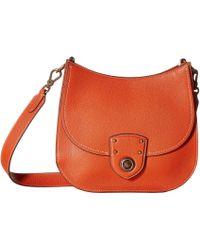 Lauren by Ralph Lauren - Millbrook Convertible Crossbody Large (burnt Orange) Cross Body Handbags - Lyst