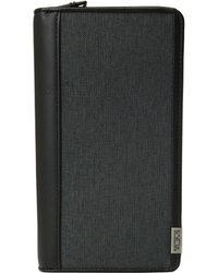 Tumi - Alpha - Zip Around Travel Wallet (anthracite/black) Wallet Handbags - Lyst