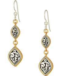Brighton - Elora Lux French Wire Earrings - Lyst