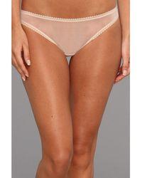On Gossamer - Solid Gossamer Mesh Hip Bikini 3202 (blush) Women's Underwear - Lyst