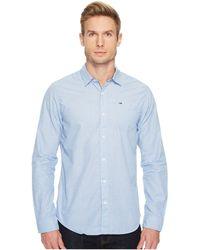 9e1cfef5 Hilfiger Denim - Original End On End Long Sleeve Shirt - Lyst