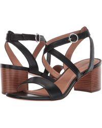 Bernardo - Brielle Heeled Sandal (black Antique Calf) Women's Sandals - Lyst