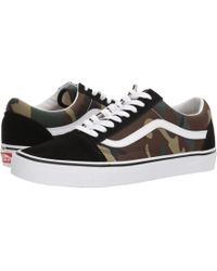 e71aab64cbd Lyst - Vans Old Skool V Pro (black white) Men s Skate Shoes in Black ...