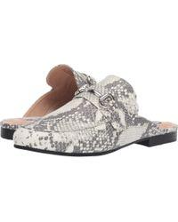 a27ab176681 Steve Madden - Kandi Slip-on Mule (natural Snake) Women s Shoes - Lyst