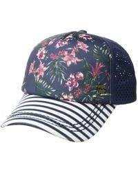 Roxy - Waves Machines Trucker Cap (holly Berry Swim House Of The Sun) Baseball Caps - Lyst