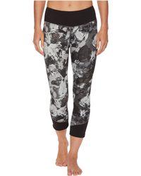 The North Face - Pulse Mid-rise Crop Pants (tnf Black Botanical Print) Women's Capri - Lyst