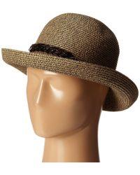 San Diego Hat Company - Ubm4440 Kettle Brim W/ Tortoise Shell Chain - Lyst