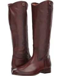 Frye - Melissa Button 2 Riding Boot - Lyst