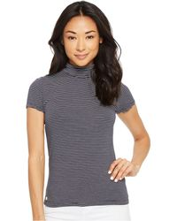 Lauren by Ralph Lauren - Petite Jersey Short Sleeve Turtleneck - Lyst