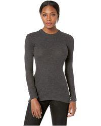 Icebreaker - Valley Slim Crewe Merino Sweater (black) Women's Sweater - Lyst