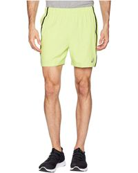 Asics - 5 Shorts (azure Heather) Men's Shorts - Lyst
