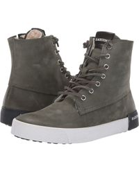 Blackstone - High-top Sneaker (dark Green) Women's Lace Up Casual Shoes - Lyst
