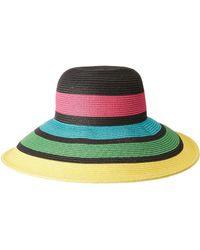San Diego Hat Company - Ubl6811 Sun Brim W/ Stripes (multi) Caps - Lyst