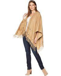 MICHAEL Michael Kors - Studded Ruana (camel) Women's Clothing - Lyst