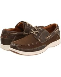 Florsheim - Lakeside Ox (brown Nubuck) Men's Lace Up Casual Shoes - Lyst