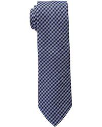 Lauren by Ralph Lauren - Small Gingham Check Tie - Lyst