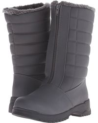 Tundra Boots - Christy (grey) Women's Cold Weather Boots - Lyst