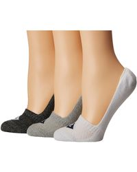 Sperry Top-Sider - Repreve Liners 3-pack (gray Marl Assorted) Women's No Show Socks Shoes - Lyst