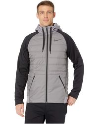 f2200f9270f168 Nike - Therma Full Zip Winterized (gunsmoke black black) Men s Clothing -