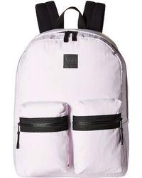 Vans - Double Down Backpack (lavender Fog) Backpack Bags - Lyst