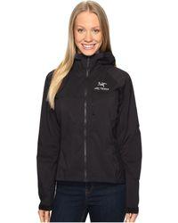Arc'teryx - Squamish Hoody (black) Women's Coat - Lyst