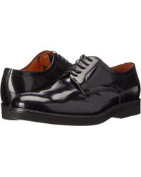 Massimo Matteo - 5-eye Brush Off Pt (black) Men's Lace Up Casual Shoes - Lyst