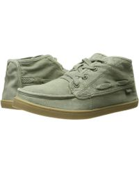 Sanuk - Vee K Shawn (olive) Women's Lace Up Casual Shoes - Lyst