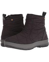 Bogs - Snowday Low (wine) Women's Rain Boots - Lyst