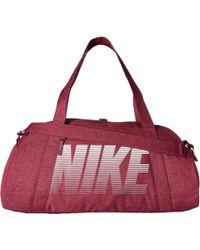 Nike - Gym Club Bag (black/black/white) Bags - Lyst