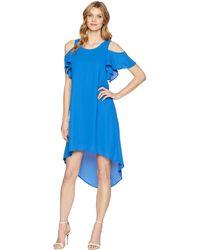 Karen Kane - Cold Shoulder High-low Dress - Lyst