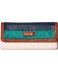 The Sak - Iris Flap Wallet (mauve Stud) Wallet Handbags - Lyst