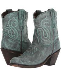 Dingo - Ariel (turquoise Leather) Cowboy Boots - Lyst