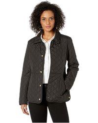 177a1da09d8 Lauren by Ralph Lauren - Blazer Quilt With Waist Detail (black) Women s  Jacket -
