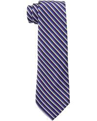 Lauren by Ralph Lauren - Striped Silk Repp Tie - Lyst